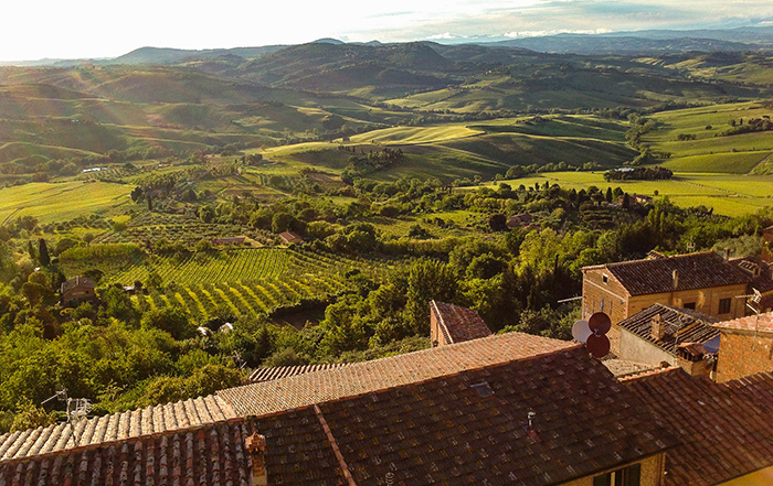 Tourist Itinerary in Tuscany: Pienza, Montepulciano and Chiusi, around mount Amiata