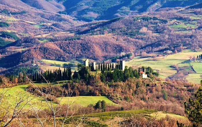 Touristic itinerary in Tuscany: Eremi and Casentino's Abbeys