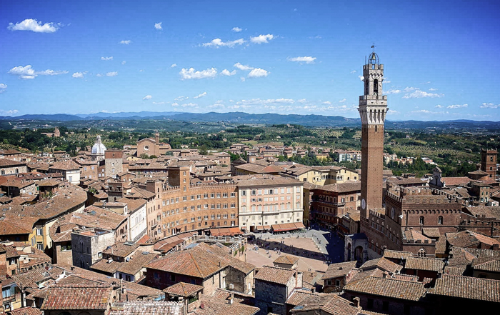 Tourist itinerary in Tuscany: The Siena land